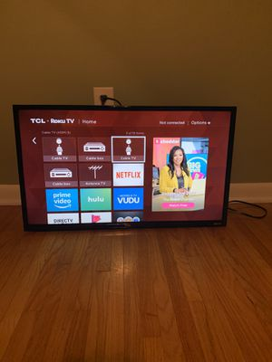 """32"""" TCL Roku TV for Sale in North Little Rock, AR"""