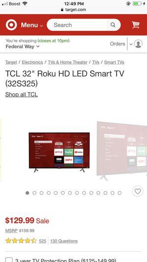 Roku smart tv for Sale in Aberdeen, WA