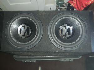 Memphis Car Audio PRX12S4 12″ SUBWOOFER for Sale in Tulsa, OK