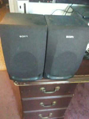 100 Watts Sony bookshelf speakers $50 for Sale in Washington, DC
