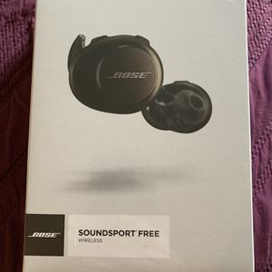****BOSE SOUNDSPORT FREE WIRELESS EARBUDS STILL SEALED NEVER OPENED!*** for Sale in San Clemente, CA