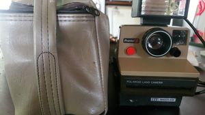 Polaroid land camera. Been in case for years looks great. for Sale in San Antonio, TX