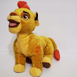 """DISNEYS STORE EXCLUSIVE The Lion Guard Kion Stuffed Plush Animal 13"""" for Sale in Brookfield, IL"""