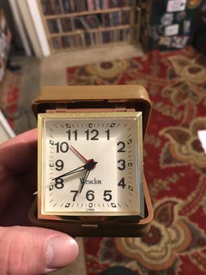 Antique traveling alarm clock for Sale in Hayward, CA