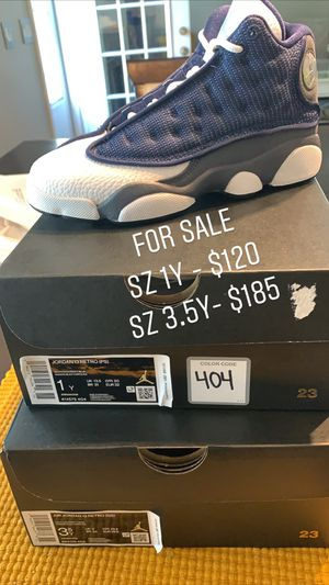 Jordan Flint 13 size 1Y and 3.5Y for Sale in Concord, NC
