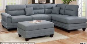 Sectional with ottoman for Sale in Buena Park, CA