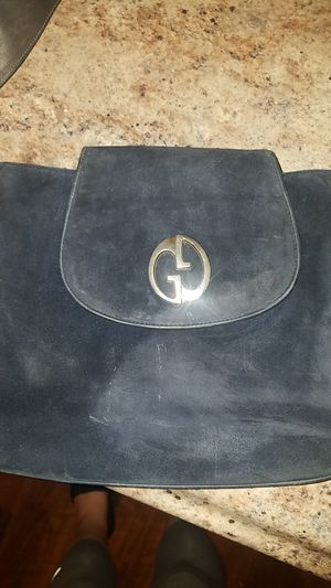 Gucci velvet black shoulder bag for a night out on the town. for Sale in Seattle, WA