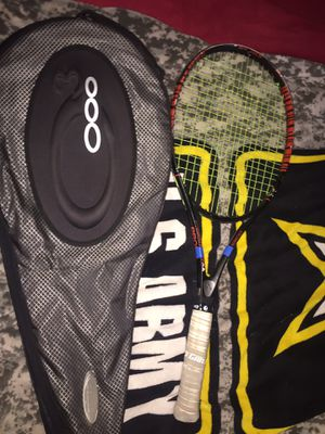 Tennis racket, and case! for Sale in Turlock, CA