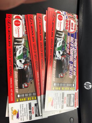 $10 homestead speedway for Sale in Miami, FL