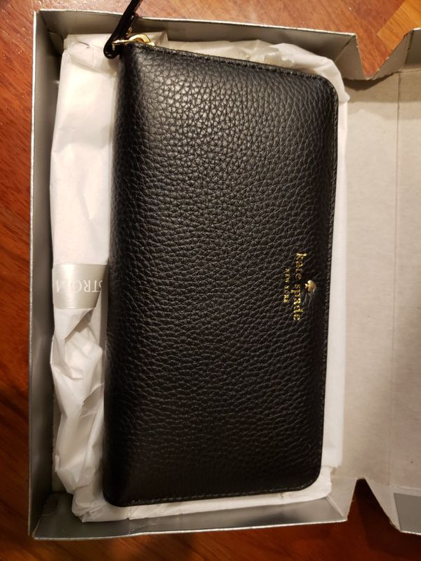 Kate spade wallet, black