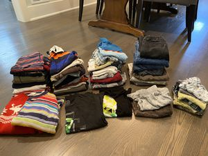 Lot of boys clothes sizes 4-7 for Sale in Island Heights, NJ