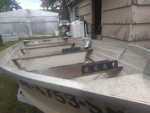 Boat motor and trailer for Sale in Salem, OR
