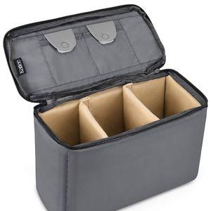 Kattee Camera Insert Bag DSLR SLR Padded Camera Case Water-Resistant Shockproof for Travel for Sale in Fort Lee, NJ