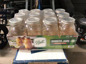 NEW Ball 12qt. 32 oz jars for Sale in Chandler, AZ