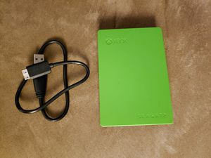 Xbox One 4Tb Portable Hard Drive for Sale in Glendale, AZ