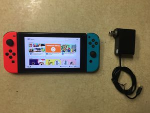 NINTENDO SWITCH with Charger for Sale in San Diego, CA