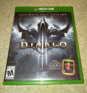 Diablo 3 Xbox One for Sale in Upper Marlboro, MD