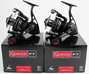 2 Quantum Smoke SL50SPTIA 5.3:1 Spinning fishing Reel W 10 Ball Bearings ideal for catching big fish for Sale in Litchfield Park, AZ