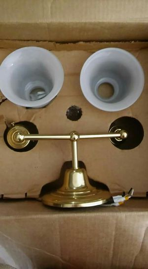 Brand new Schoolhouse electric wall sconce Abrams doubles sconce 2.25 for Sale in Los Angeles, CA