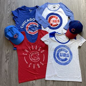 Chicago Cubs Shirt and Hat Bundle for Sale in Las Vegas, NV