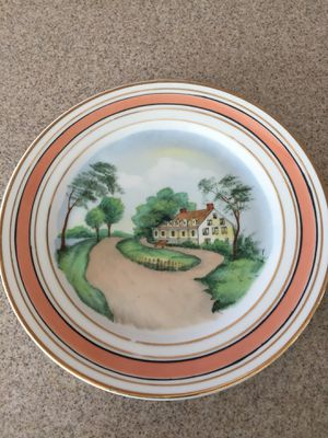 Vintage Czechoslavakia Plate for Sale in NO POTOMAC, MD