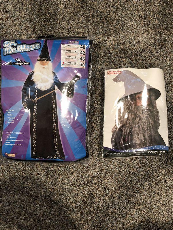 Adult XL Wizard Halloween Costume