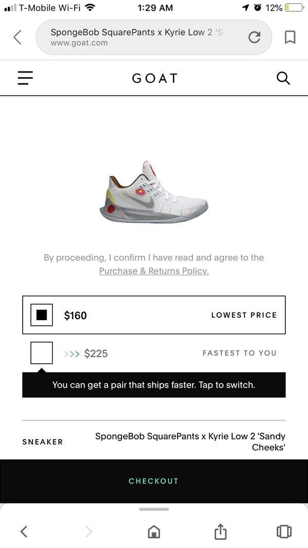 Nike kyrie 5 sandy size 11.5