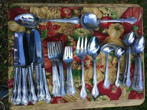 Japan Stainless Steel Flatware Service for 8 for Sale in Washington, DC