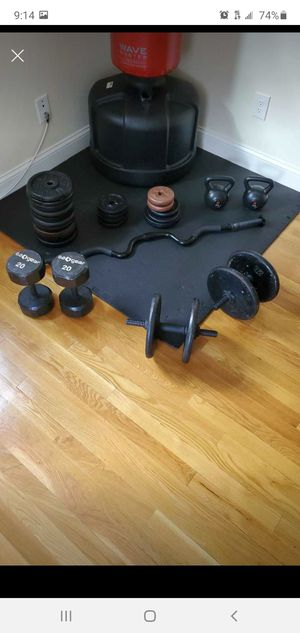 Weights** pricing is in the description for Sale in Wakefield, MA
