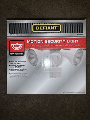 Defiant Motion Security Light for Sale in Pittsburg, CA