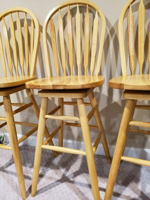 3 spinning Stools for Sale in Centreville, VA