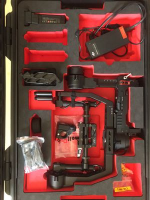 Upgraded DJI Ronin + Cinemilled ext. + Thumb controller for Sale in Los Angeles, CA