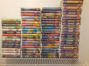 Walt Disney Movies. 80 VHS total for Sale in Las Vegas, NV