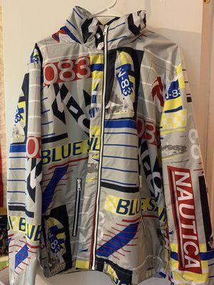 Nautica Windbreaker Jacket Men's Large for Sale in Manassas, VA