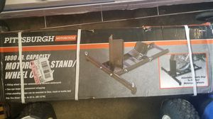 Motorcycle stand/ wheel chalk for Sale in Palmdale, CA