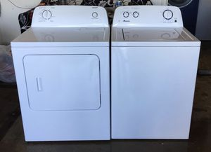 Washer machine and dryer electric set two months warranty delivery for Sale in Phoenix, AZ