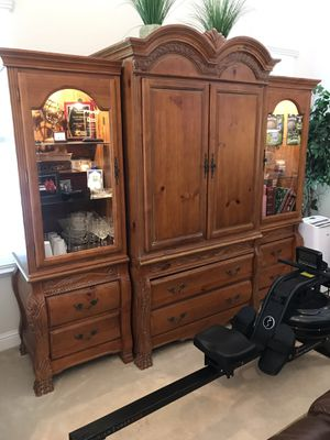 Entertainment center for Sale in Tracy, CA