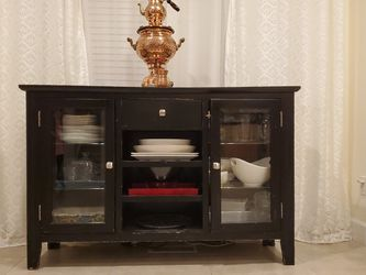 Buffet Cabinet, Black for Sale in Battle Ground,  WA