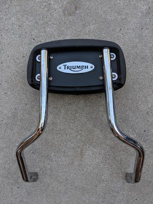 Triumph Short Sissy Bar - Bonneville, Thruxton, Scrambler for Sale in Santa Ana, CA