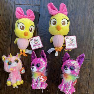 Disney Ty Flippables Charmed Fantasia Cuckoo loca for Sale in Aliso Viejo, CA
