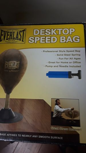 Everlast desktop speed bag new for Sale in San Diego, CA