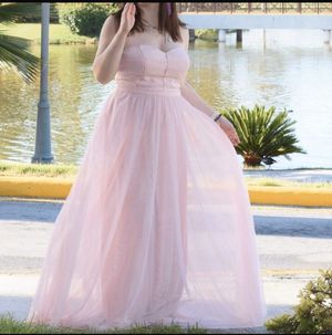 JS Collections Blush Tulle Dress Size 8 for Sale in New York, NY