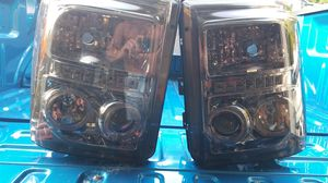 2011 F350 Smoked HID Spyder Halo Headlights for Sale in Lake Stevens, WA