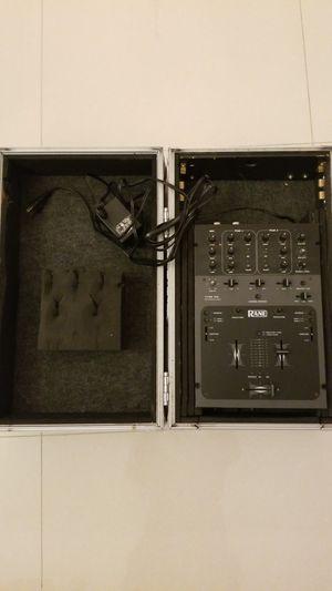 Rane TTM 56 mixer with flight case for Sale in Miami, FL