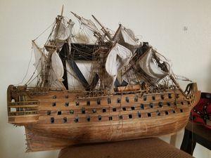 Handmade tall wooden ship for Sale in Phoenix, AZ