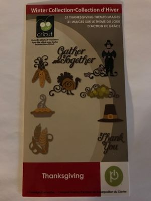 Cricut Cartridge - Thanksgiving for Sale in Yalesville, CT