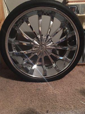 26 inch rims for Sale in Wichita, KS