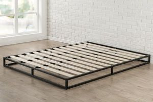 SALE!!! New in box Zinus Joseph Modern Studio 6 Inch Platforma Low Profile Bed Frame King size $50 for Sale in Columbus, OH
