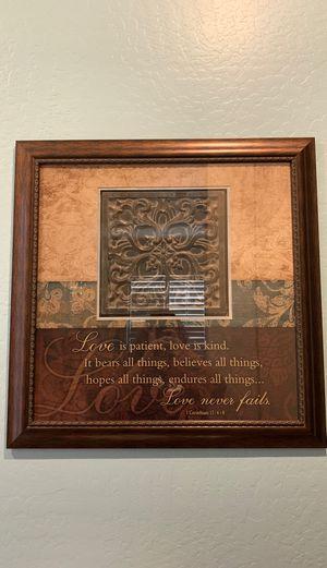 framed wall art decor for Sale in Goodyear, AZ
