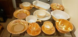 Fire king dishes for Sale in Vero Beach, FL